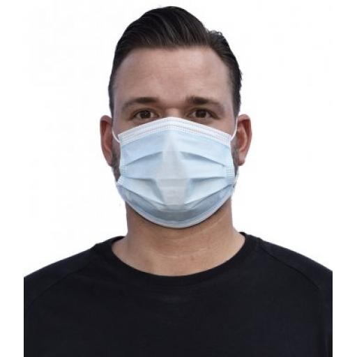 Pack of 50 - Regatta Type I 3-Ply Disposable Face Mask