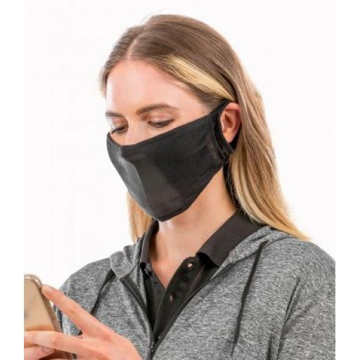 Pack of 10 - Result Anti-Bacterial Face Cover