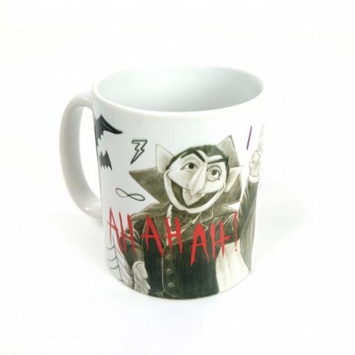 Personalised Count Von Count Mug - Sketch.