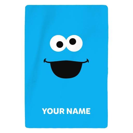 Personalised Sesame Street - Cookie Monster Features.