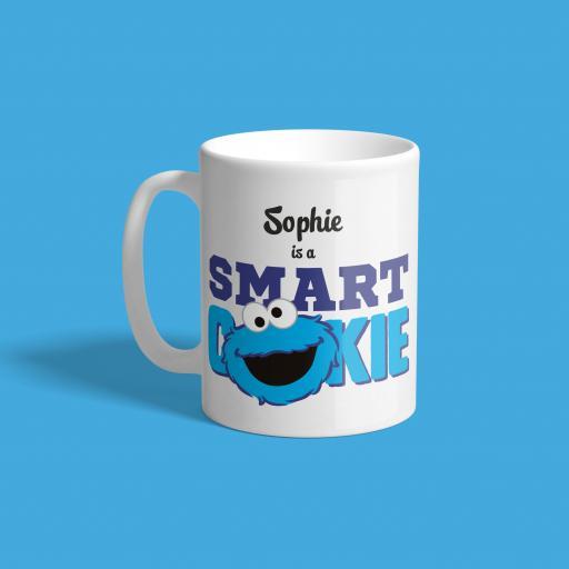 Personalised Cookie Monster Mug - Smart Cookie.