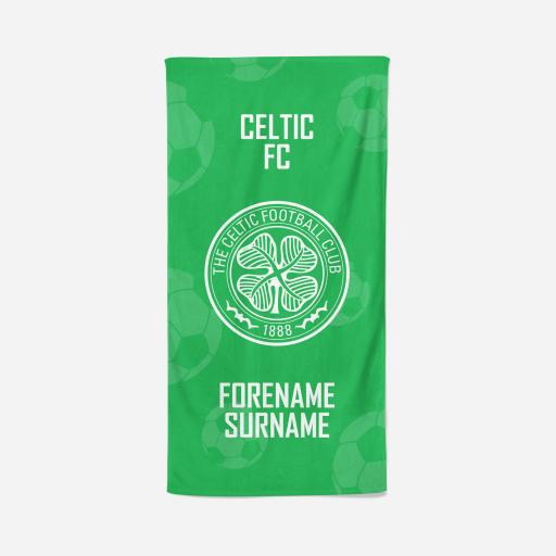 Celtic FC Crest Design Towel
