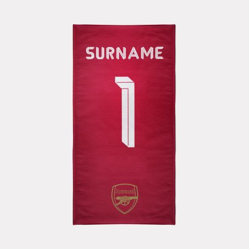 Arsenal FC Towel - Kit Design