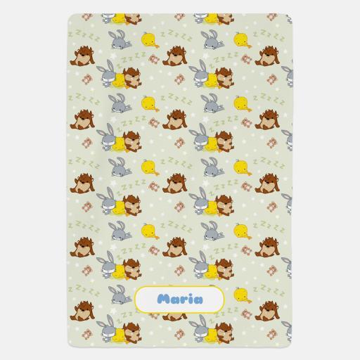 Personalised Looney Tunes™ Fleece Blanket.
