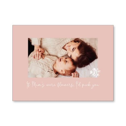 Personalised Small Canvas - I Want To Be Just Like Mum.