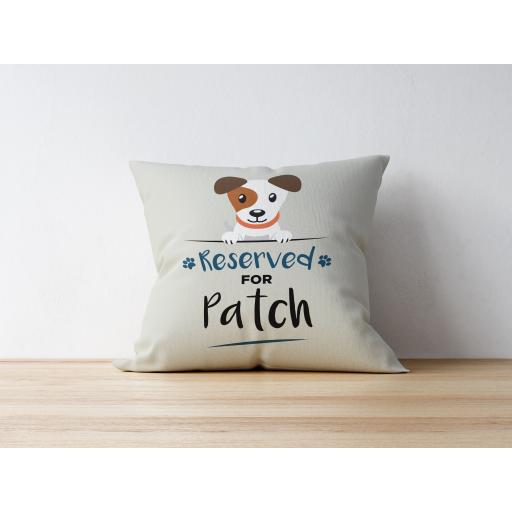 Personalised Jack Russell Cushion