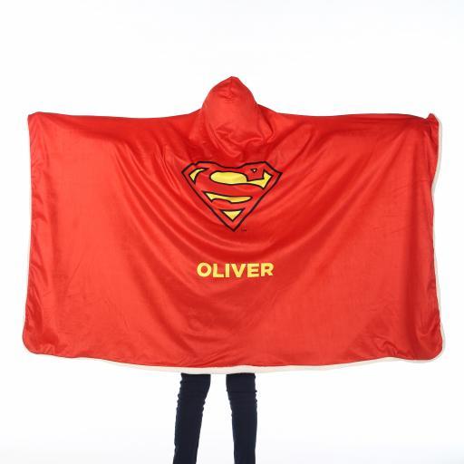 Superman™ Kids Hooded Blanket - Superman Cape