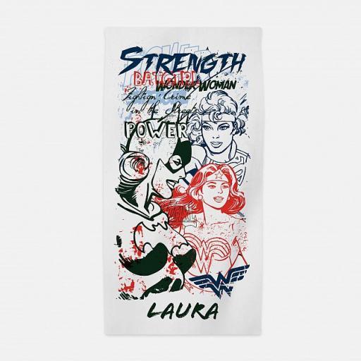 Women Of DC Strength Beach Towel