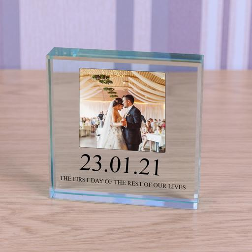 Personalised Glass Token - Special Date