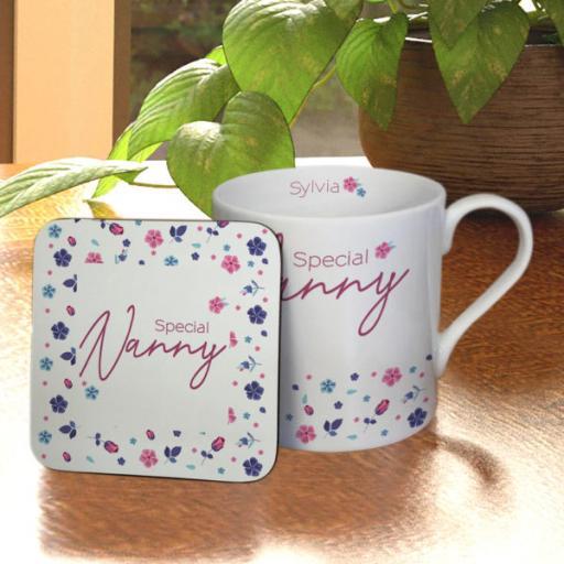Amazing Floral Large Balmoral Mug