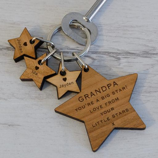 Personalised You're A Big Star Key Ring.