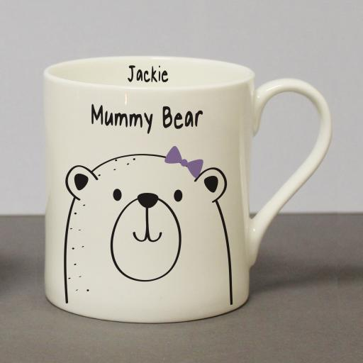 Mummy Bear Chunky Balmoral Mug