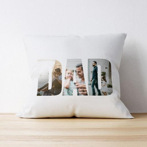 Photo Upload Cushion - Dad