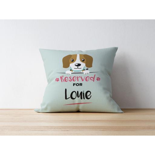 Personalised Beagle Cushion