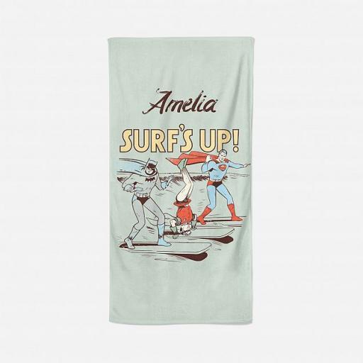 DC Vintage Personalised Towel