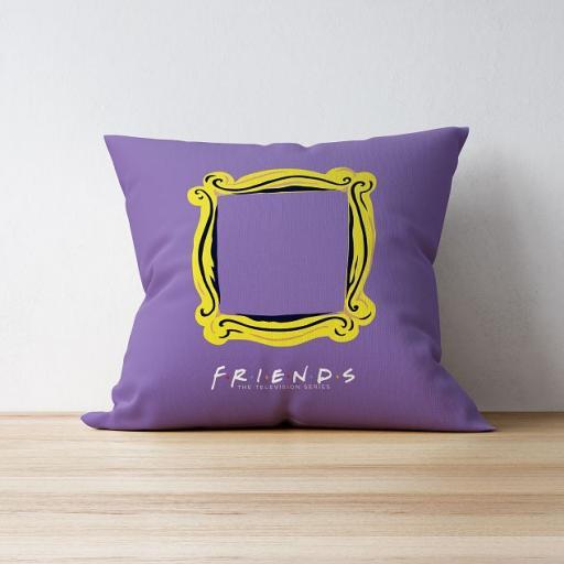 Personalised Friends™ Peephole Personalised Cushion.