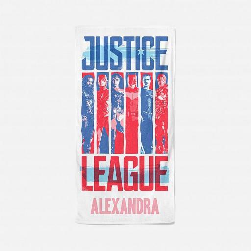 Personalised Justice League Personalised Towel.