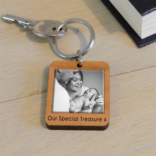 Personalised Photo Key Ring.