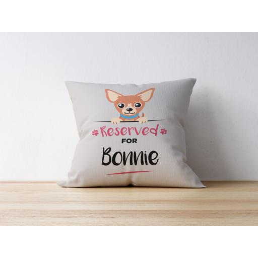 Personalised Chihuahua Cushion