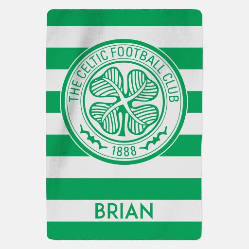 Celtic FC - Stripes - Fleece Blanket