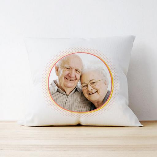 Photo Upload Cushion - Circle