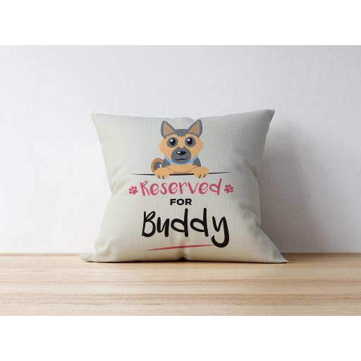 Personalised German Shepherd Cushion