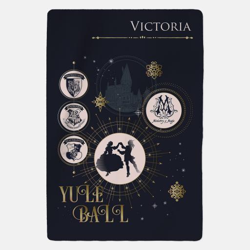 Harry Potter™ Personalised Blanket - Yule Ball