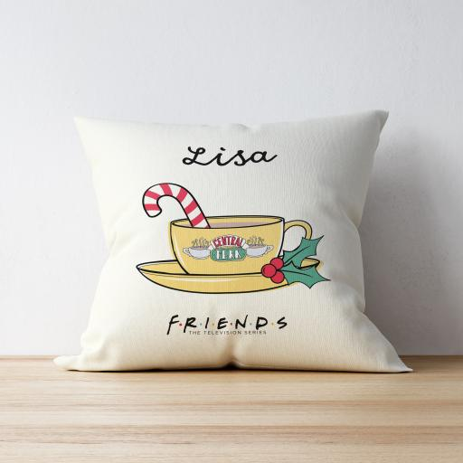 Personalised FRIENDS™ Christmas Cushion.