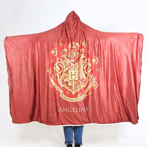 Harry Potter™ Adult Hooded Blanket - Red Crest