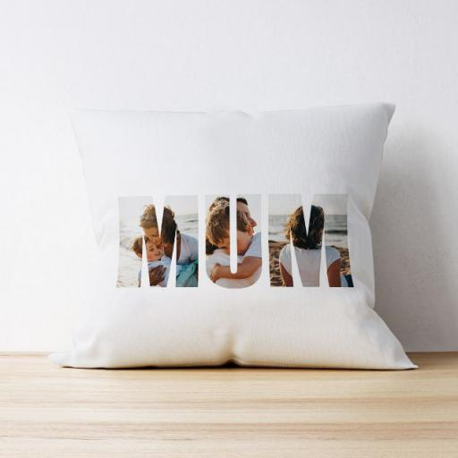 Photo Upload Cushion - Mum