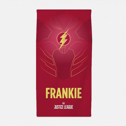 Personalised Justic League - The Flash™ Towel.