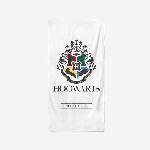 Harry Potter™ Towel - Hogwarts Crest