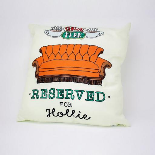 Personalised Friends™ Reserved For Personalised Cushion.