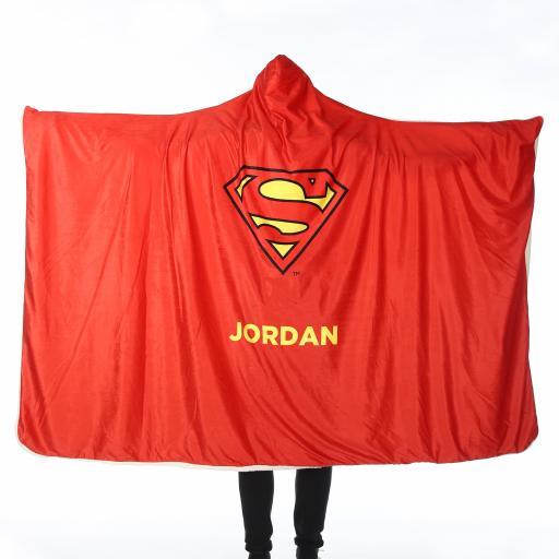 Superman™ Adult Hooded Blanket - Superman Cape