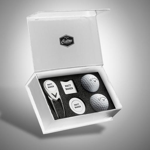 Personalised Callaway Customs iBox 2.0 Plus - Gift Set