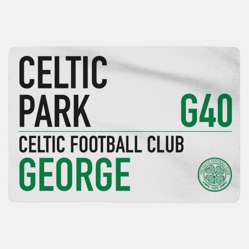 Celtic FC - Sign - Fleece Blanket