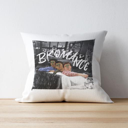 Personalised Friends™ Bromance Cushion.