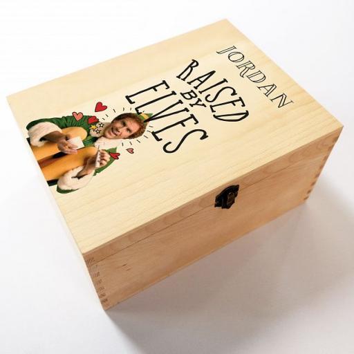 Personalised Elf Raised by Elfs Box Christmas Eve Box.