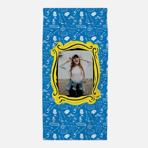 Personalised Friends Photo Frame - Photo Upload Towel.