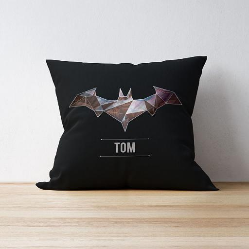 Personalised Batman Cushion - Dark Matter.