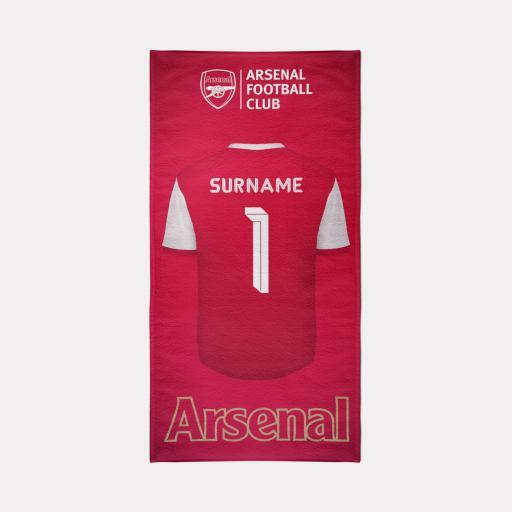 Arsenal FC Towel - Retro Design