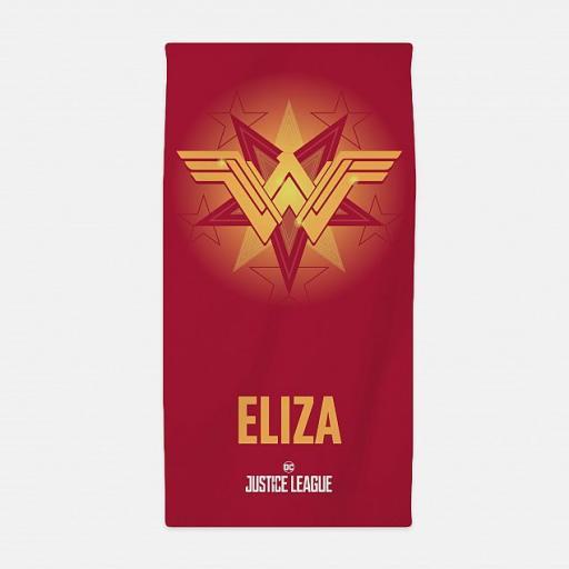 Personalised Justice League - Wonder Woman™ Towel.