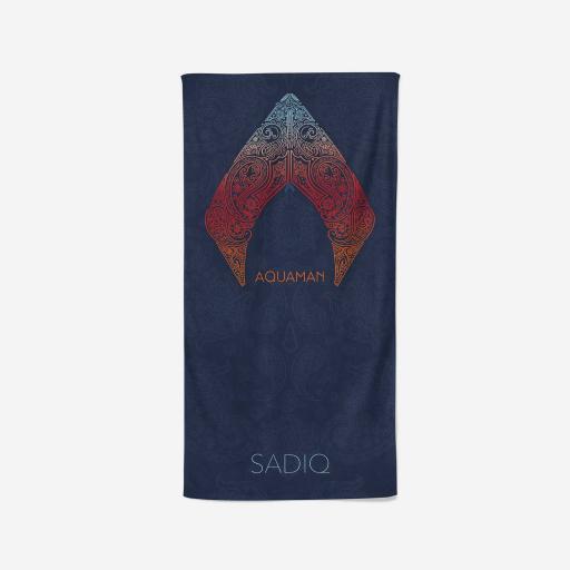 Aquaman Sea Of Love Beach Towel