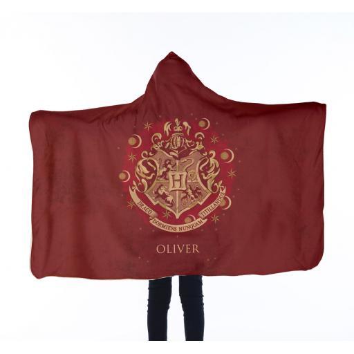 Harry Potter™ Kids Hooded Blanket - Red Crest
