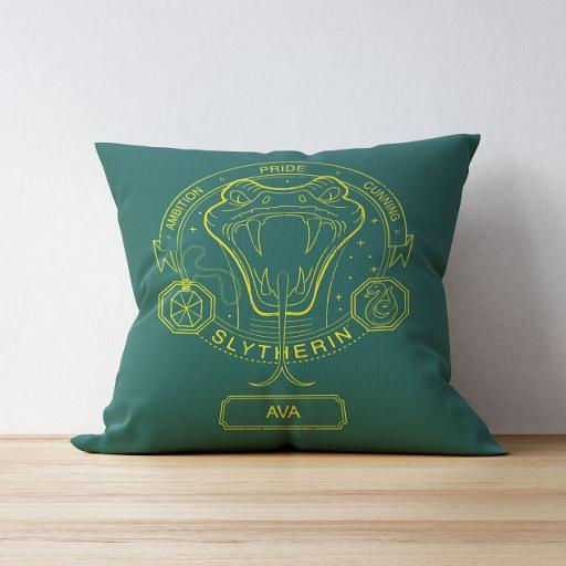 Slytherin™ House Emblem Cushion