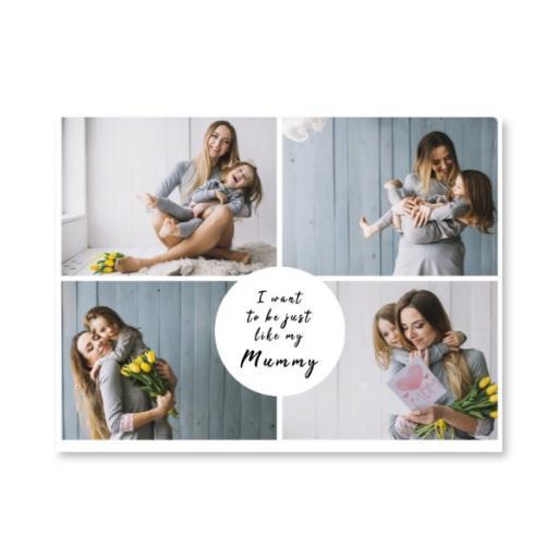 Medium Canvas - I Want To Be Just Like Mum