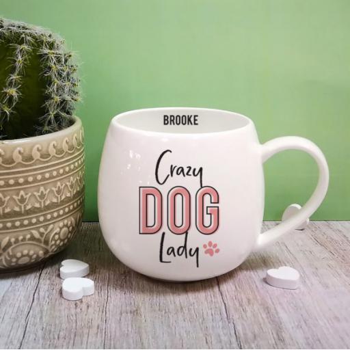 Crazy Dog Lady Hug Mug