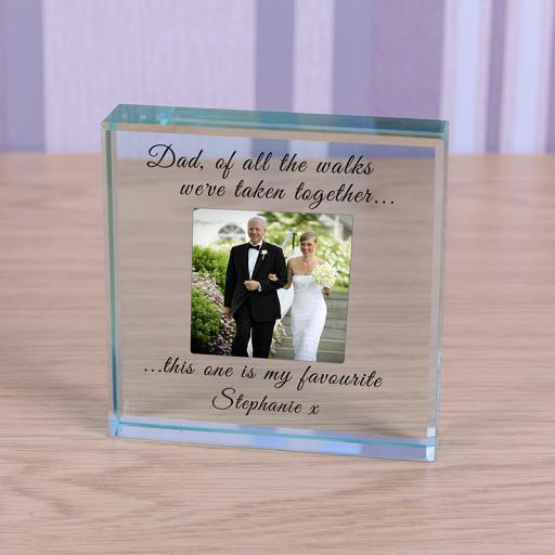 Personalised Glass Token - Of all the walks